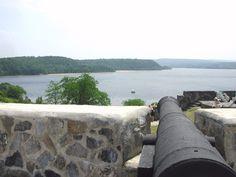 Fort Ticonderoga, NY, near Lake Champlain