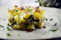 tortino carciofi e patate