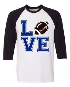 Excited to share the latest addition to my  etsy shop  Love the Cowboys Tee 4be4f0afd