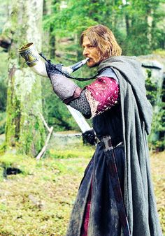 The Horn of Gondor #TheLordOfTheRings #TheFellowshipOfTheRing #Boromir