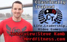 steve kamb nerdfitness interview video game life lessons