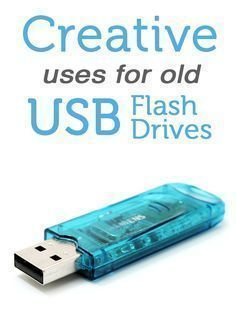 Você tem Pendrives velhos sem utilidade? Veja 5 idéias para tornar úteis seus antigos pendrives! If you have old USB flash drives lying around, you'll want to check out these tips. Great ideas!