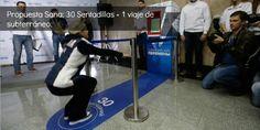 Propuesta Sana: 30 Sentadillas = 1 viaje de subterráneo  Leer mas: http://runfitners.com#ixzz2keZpGh2y  Follow us: @RunFitners on Twitter | runfitners on Facebook