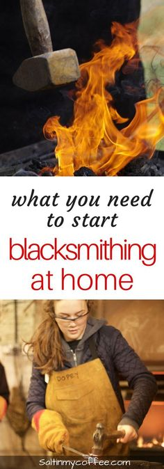Here's a list of what you need to start blacksmithing at home. This article lays out the 8 must-haves for starting a backyard forge!