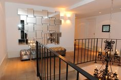 The Netherlands / Private Residence / Stair Case / Delano XL Pouffe / Status Living / Eric Kuster / Metropolitan Luxury