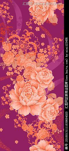 花卉纹样 玫瑰纹样 提花图案