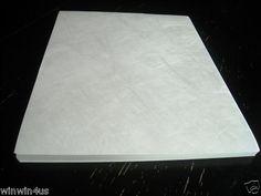 DuPont Tyvek Sheets 10//lot 11 x 17 Tyvek Paper Art Craft Material Acid Free