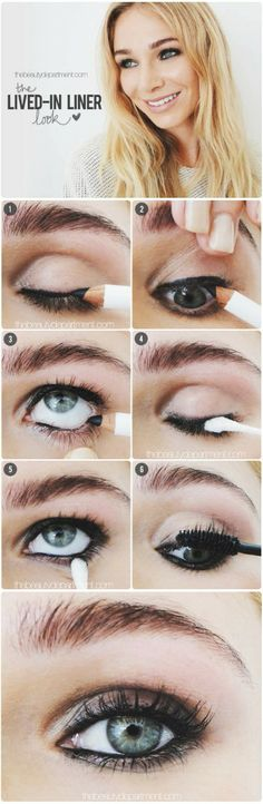 Lived-it liner makeup look #tutorial #evatornadoblog