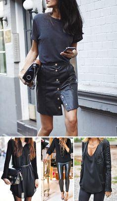 12dicas para ajudar você ausar roupas pretas como uma diva