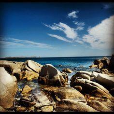 #villasimius #sea #sky #sardinia #mistral #puntamolentis #rocks #cliff #clouds