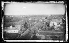 East on Church Avenue from Ocean Avenue, Flatbush, Brooklyn, ca. 1872-1887. by Brooklyn Museum, via Flickr.