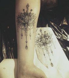 Lotus Mandala Tattoo.