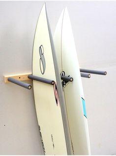 Vertical Surfboard Rack | Upright Surfboard Storage - StoreYourBoard.com