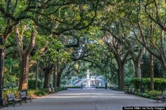 """Savannah has been named the """"Most Romantic City in the South"""" by The Huffington Post!"""