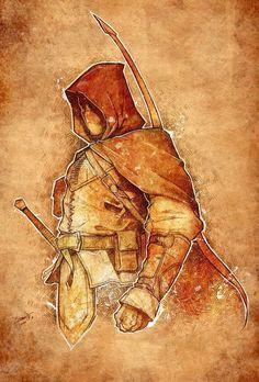 Arquero boceto