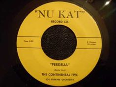 Continental Five - Perdelia - Rare Late 50's Doo Wop Ballad (Richmond, V...