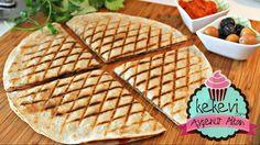 Ajvar Soslu Lavaş Tost (Izgara Tavada) / Ayşenur Altan Yemek Tarifleri