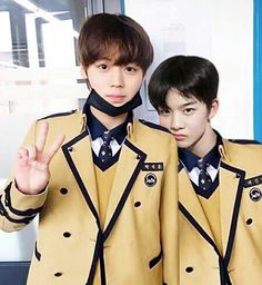Wanna-One - Jihoon and Jinyoung