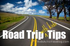 Over 40 great tips for road trips w/kids incl packing a potty w/disposable diaper(s) in the bottom for last min emergencies and/or to avoid nasty gas station bathrooms.