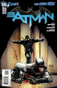 Batman #5 (DC) by Scott Snyder and Greg Capullo. Cover by Greg Capullo.