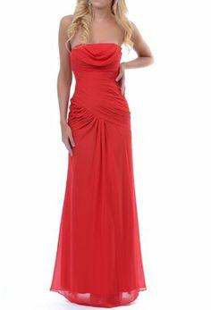 Red Floor Length Chiffon & Ruffles Women's Prom Dress (14) Crystal Dresses,http://www.amazon.com/dp/B00EZLOS6C/ref=cm_sw_r_pi_dp_ebThtb113TT76389