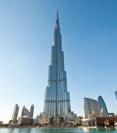 Burj Khalifa, il grattacielo più alto del mondo.