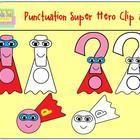 Punctuation Hero Clip Art - Stacy Johnson