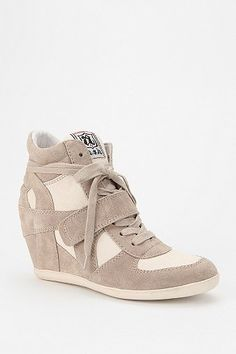 ++ Ash Bowie High-top Wedge-sneaker
