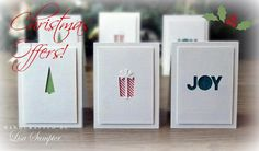 Gorgeous Christmas cards and attractive offers, definitely worth a look!
