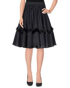 Blumarine Women Knee Length Skirt on YOOX. The best online selection of Knee Length Skirts Blumarine. YOOX exclusive items of Italian and international designers - Secure payments
