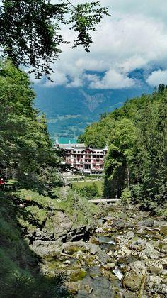Hotel Giessbach, Brienzersee, Berner Oberland, Schweiz