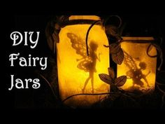 DIY: FAIRY GLOW JARS | NO TISSUE PAPER | FAIRY LANTERN + GIVEAWAY - YouTube