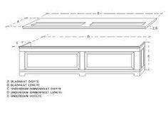 convector vensterbank bouwtekening Table, Furniture, Home Decor, Interior Design, Home Interior Design, Desk, Tabletop, Arredamento, Desks