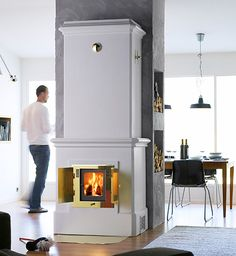 swedish-stove-contura-duo-103.jpg  Contura stoves come in many sizes and styles, and whether you choose a modern or classic style, the same time tested technology will deliver. The fan equipped Swedish stoves push the heat quickly from room to room, spreading it uniformly around the house. A heavy, heat retaining cast core and long multichannel flues allow these stoves to store heat and keep rooms warm up to one day after the fire is extinguished. Contura.