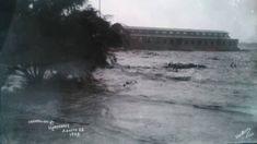 Puente San Luisito y Río Santa Catarina. Inundación de 1909 Rio, Niagara Falls, Nature, Travel, Santa Catarina, August 28, St Louis, Old Photography, Historical Photos