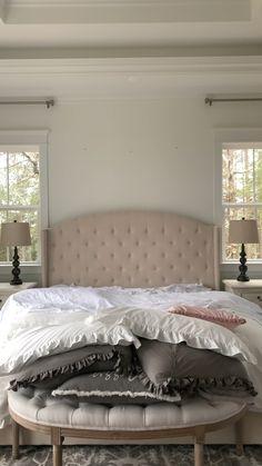 Room Ideas Bedroom, Home Room Design, Master Bedroom Design, Home Decor Bedroom, Bedroom Furniture, Shabby Chic Master Bedroom, Military Home Decor, Bedroom Flooring, My New Room