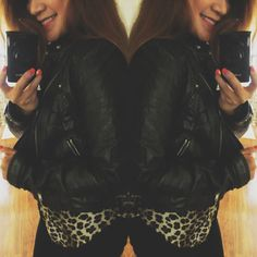 Red lips, black motorcycle jacket & leopard, I mean, what else do you need? ♥✌ #caligirlswag #mystyle #whattowear #wiwt #inexpensive #black #canompowershot #red #leopard #longhairdontcare #selfie #ootd #ootn #fashionvlogger #instagood #potd #instafun #filipina #redlips @Forever 21 @OOTD Magazine @OOTN MAGAZINE