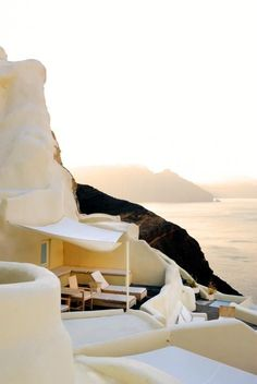 Mystique Resort in Santorini island, Greece Vacation Destinations, Dream Vacations, Vacation Spots, Greece Vacation, Vacation Travel, Greece Travel, Vacation Ideas, Oh The Places You'll Go, Places To Travel