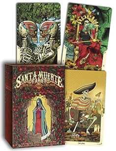 The artwork on these looks amazing! Santa Muerte Tarot Limited Edition by Fabio Listrani - currently on my pre-order Best Tarot Decks, Tarot Card Decks, 3 Card Tarot Spread, What Are Tarot Cards, Tarot Cards For Beginners, Rider Waite Tarot, Book Of The Dead, Stefan Zweig, Tarot Learning