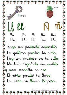 ESOS LOCOS BAJITOS DE INFANTIL: CARTILLA DE LECTURA Spanish Lesson Plans, Spanish Lessons, Teaching Spanish, Kids Homework, I School, Cursive, Homeschool, Language, Lettering