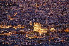 The city of Paris, France -