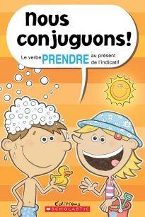 Cette collection est l'outil parfait pour aider les jeunes à apprendre à conjuguer. Les livres présentent un verbe chacun. Au fil des pages, un pronom à la fois, les jeunes apprendront à conjuguer avec plaisir et facilité. Des cartes-éclair sont aussi incluses à la fin pour renforcer l'apprentissage.