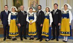 Swedish royal family attend 2017 National Day celebration