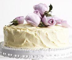 White chocolate mud cake
