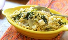 Greek Orzo from Feed Your Soul Too