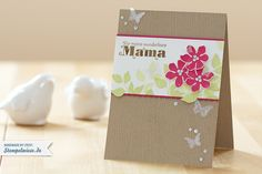 Muttertag - Summer Silhouettes - Stampin' Up!