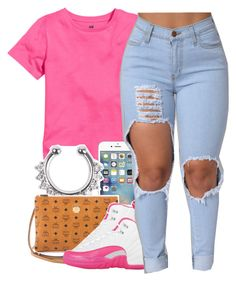 """""""Untitled #395"""" by uniquee-beauty ❤ liked on Polyvore featuring MCM and NIKE"""