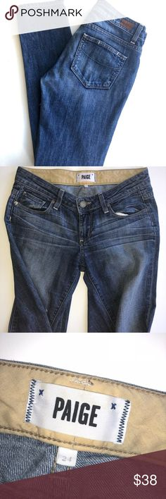 PAIGE jimmy jimmy skinny jeans size 24 PAIGE jimmy jimmy skinny jeans size 24, gently used, some distress marks, great condition. PAIGE Jeans Skinny