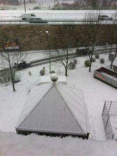 Cologne snow!!