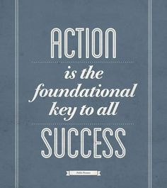 What steps are you taking to achieve your leadership goals? #Leadership #Action #Success